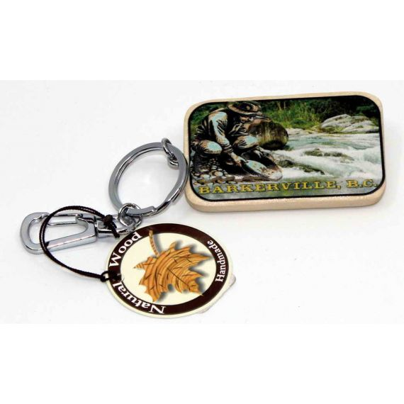 Wooden Keychain 3D image of Panner