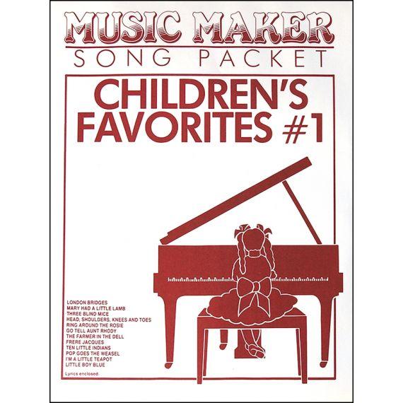 Children's Favorites #1 Music Pack (12 songs) for the Psaltery