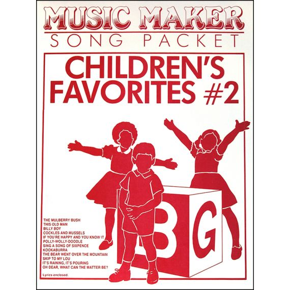 Children's Favourites #2 Music Pack