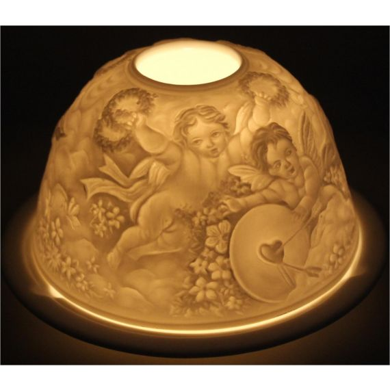 "lithophane ""Cupid"""