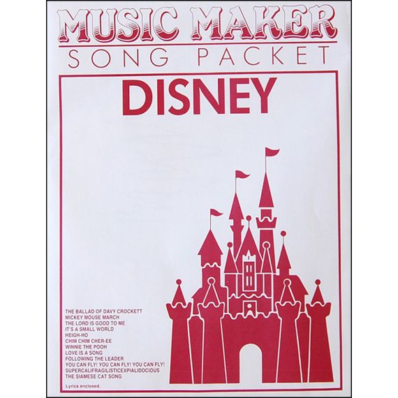 Disney #1 Music Pack