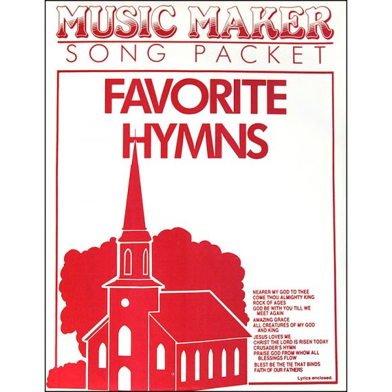 Favourite Hymns #1 Music Pack
