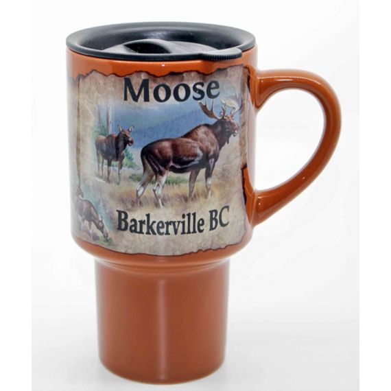 Moose Story Travel Mug