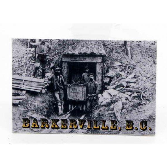 Fridge magnet Never Sweat Mine Barkerville