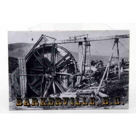 Fridge magnet Davis Claim Barkerville