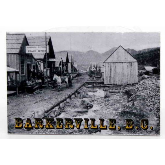 Fridge magnet Barkerville 1868