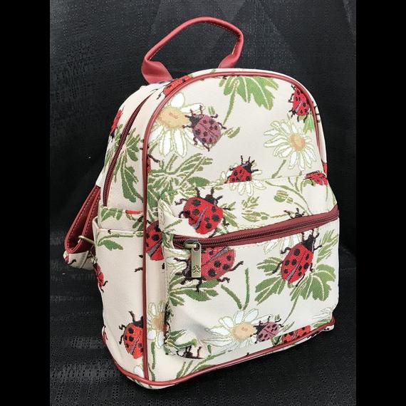 Tapestry Backpack - Ladybug