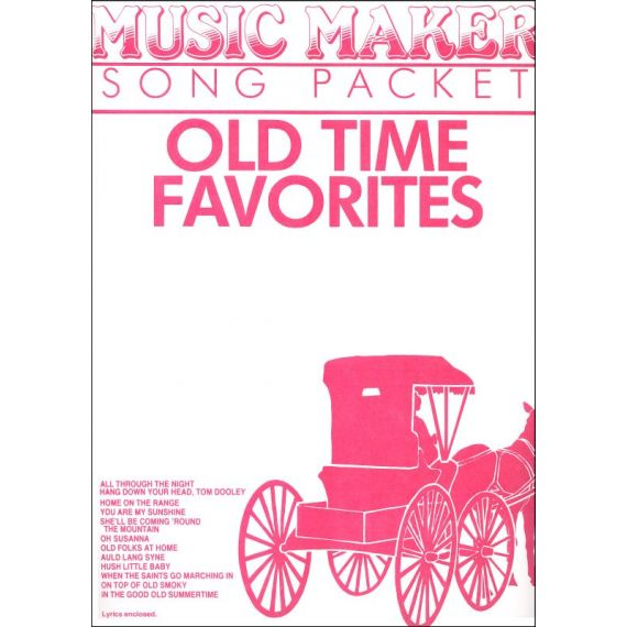 Old Time Favourites #1 Music Pack