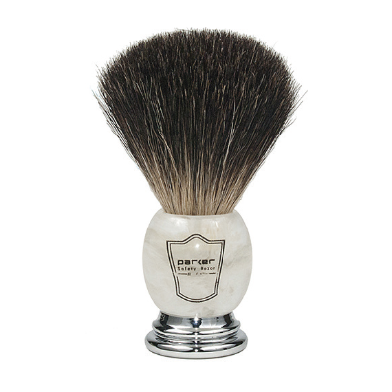 Ivory Marbled Shave Brush