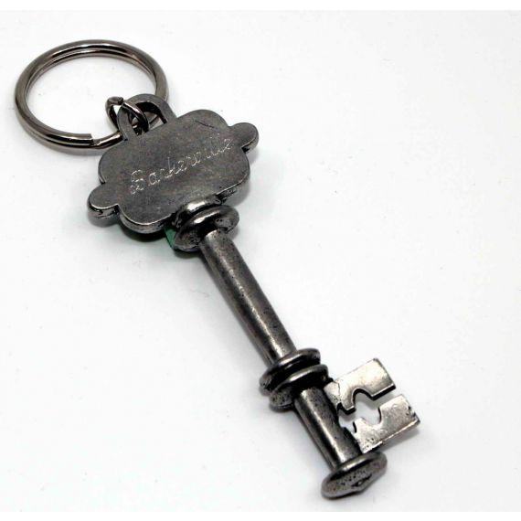 Pewter Skeleton Key