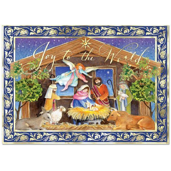 Xmas Cards - Nativity