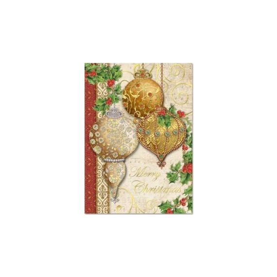 Xmas Cards - Ornaments