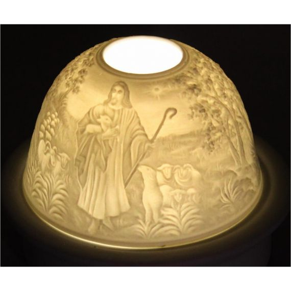 "lithophane ""Good Shephard"""