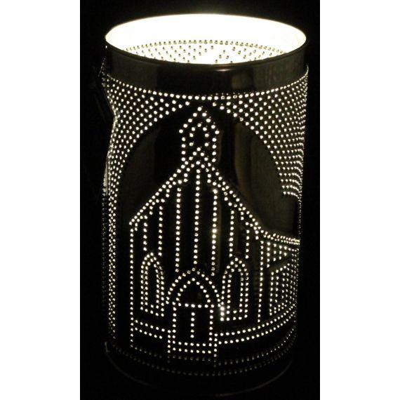 Punched Tin Lamp - St. Saviour's