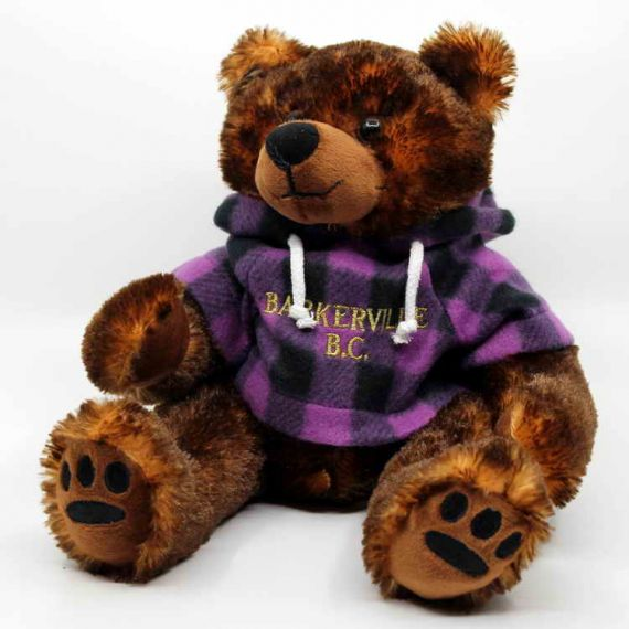 Plush Grizzly Hoodie