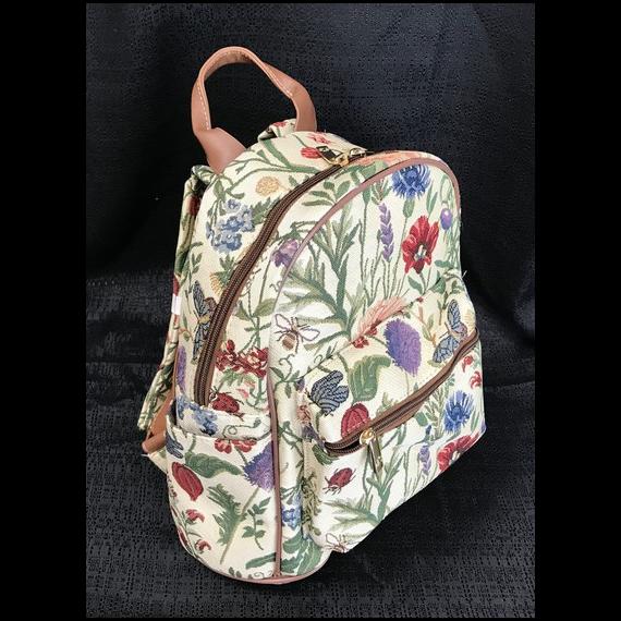 Tapestry Backpack - Sunflower