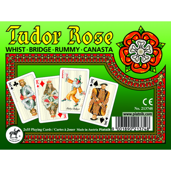 Tudor Rose Playing Cards