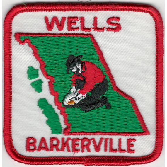 Wells/Barkerville Embroidered Patch